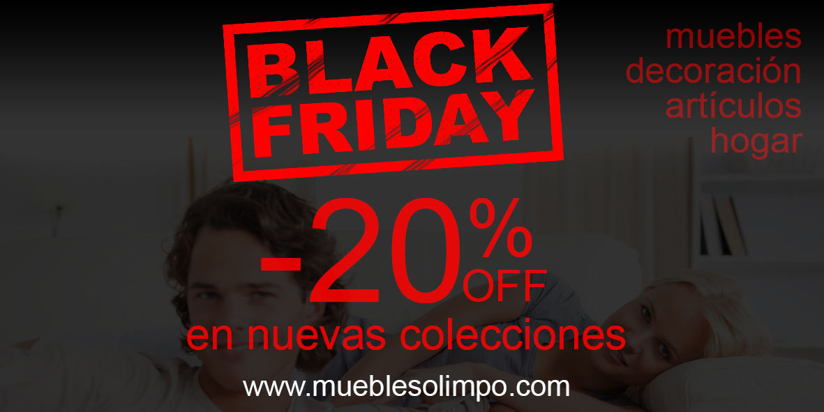 Blog muebles olimpo for Muebles black friday